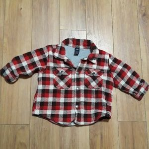 Other - Baby Gap flannel shirt jacket